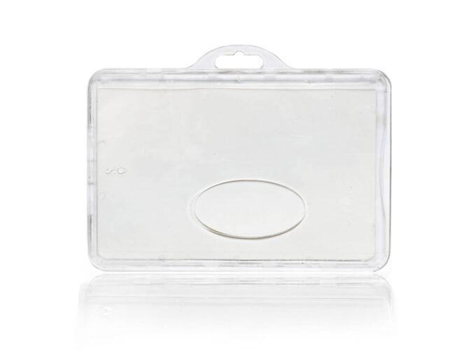 Porte-badge rigide sécurisé anti-RFID face avant