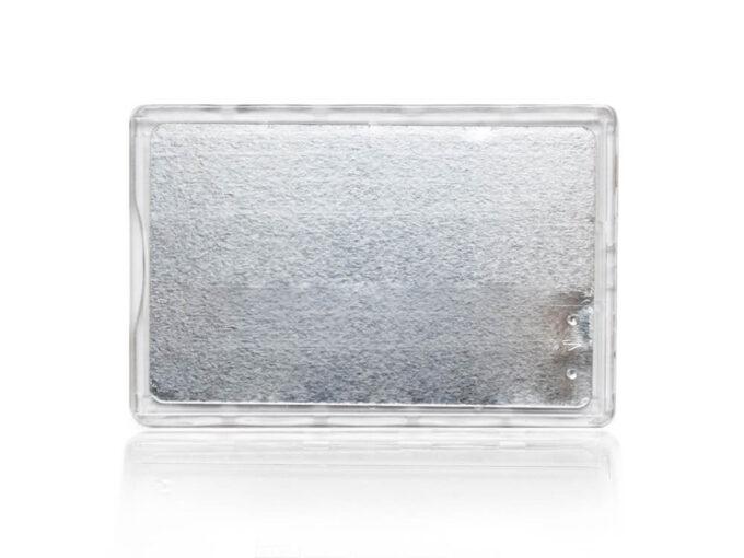Protège-carte rigide sécurisé anti-RFID face arrière