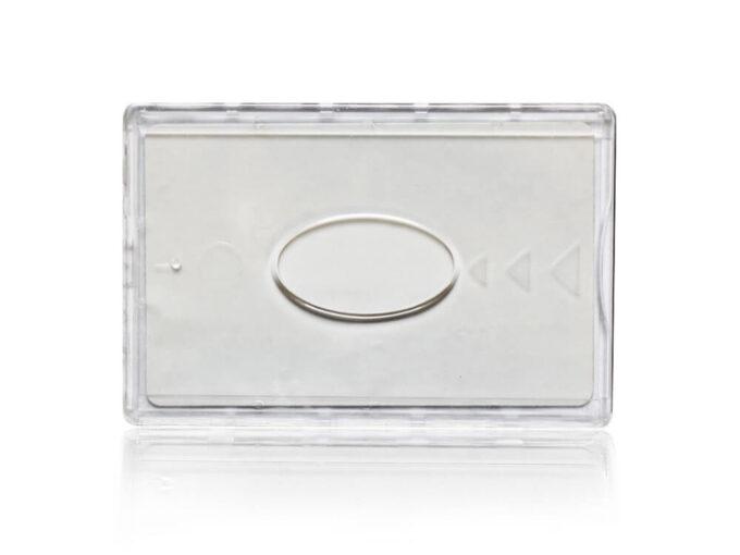 Protège-carte rigide sécurisé anti-RFID face avant