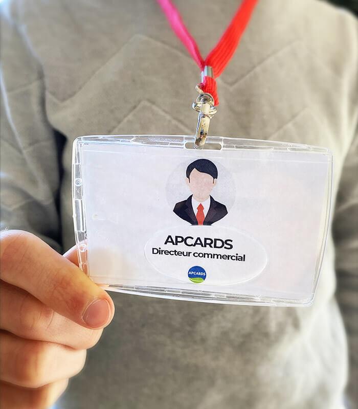 Porte-badge protection efficace