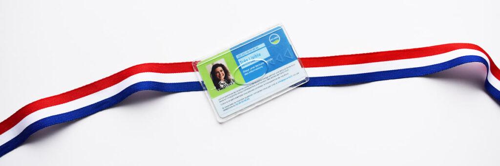 card holder badge holder