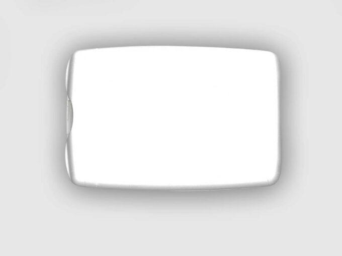 Card holder with integrated storage back side