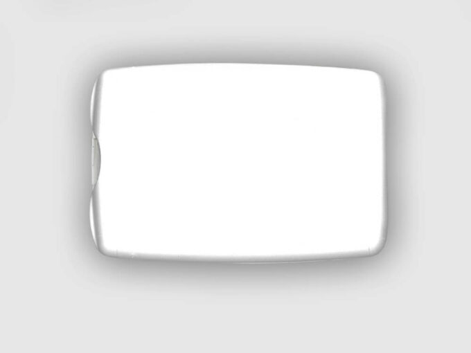 Porte-carte avec miroir intégré face arrière