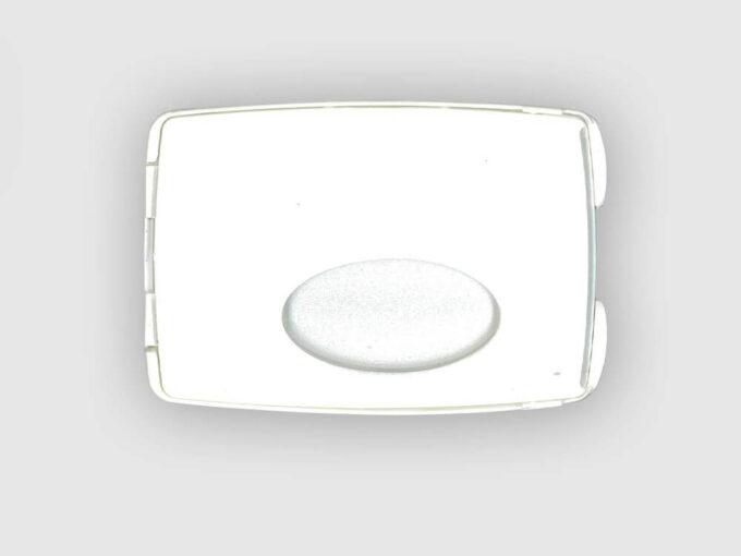 Porte-carte avec miroir intégré face avant