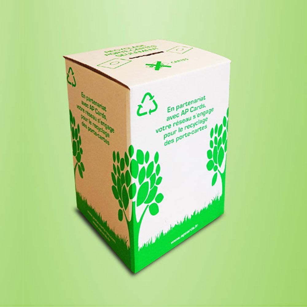 Recycl'box recyclage développement durable APCards