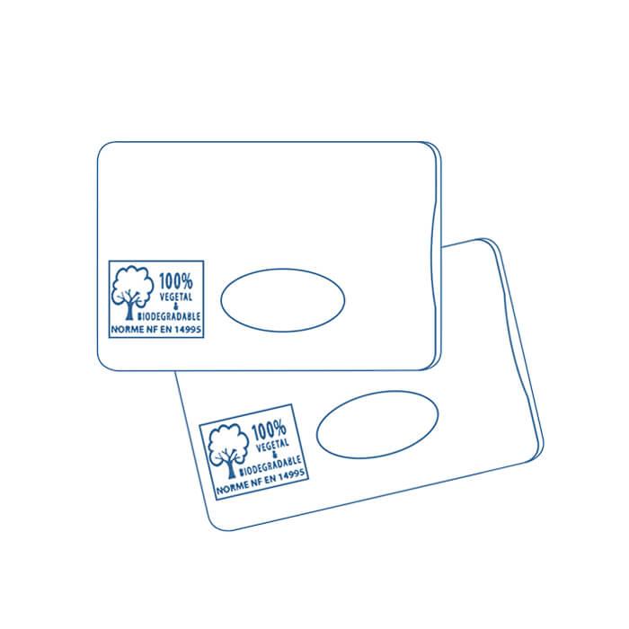 protège-carte porte-carte porte-badgeécologique