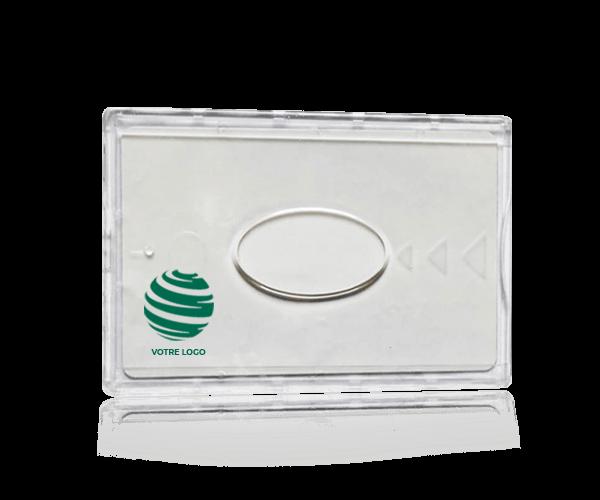 protège-carte bancaire anti-rfid personnalisé