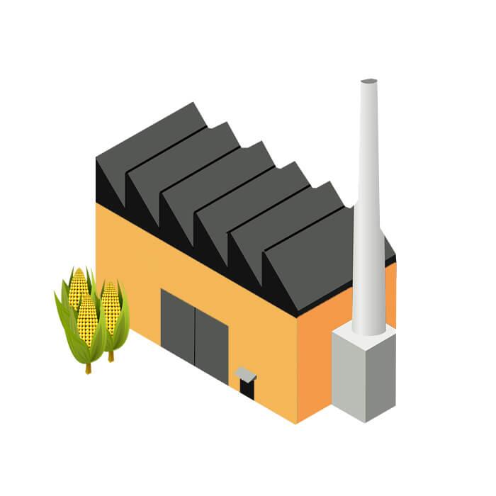 usine transformation amidon maïs
